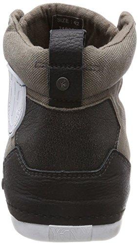 Grey Yellow Sneaker Grind Uomo Grigio Alto Grey Collo M a Cab rrwqtz5