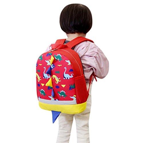 Kis Back to School Backpack,Realdo Boys Girls Dinosaur Pattern Animals Daypack Toddler School Bag