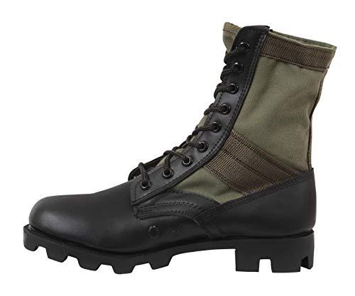 Rothco 8'' GI Type Jungle Boot, Olive Drab, Regular 5