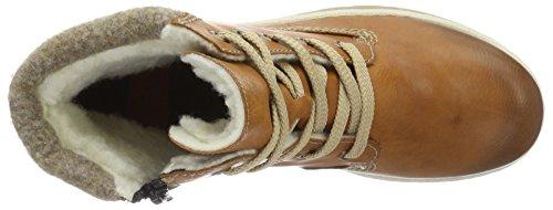 Cayenne wood Marrón Mujer para Rieker kastanie Botas Y9420 CWXqwCxBU