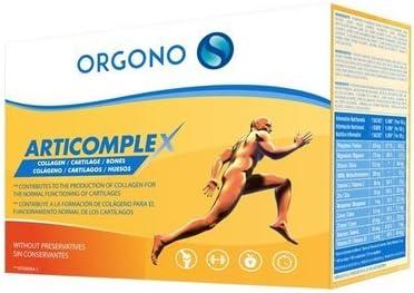 ORGONO ARTICOMPLEX | Con Vitamina C, Vitamina D 3 Y Magnesio | Silicio Orgánico En Polvo Concentrado con Vitaminas Y Minerales Para Músculos, Articulaciones Y Huesos