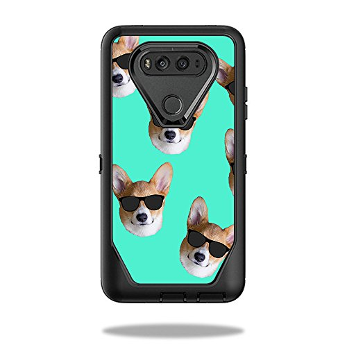 Skin For OtterBox Defender LG V20 – Cool Corgi | MightySkins Protective, Durable, and Unique Vinyl Decal wrap cover | Easy To Apply, Remove, and Change Styles | Made in - Youtube Sunglasses Cheap