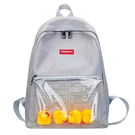 888b4e62219 Amazon.com   school bag for students, iOPQO Baby Girls Boys Ducks Animal  Toddler Backpack   Kids  Backpacks