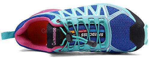 Go Tour Womens Lightweight Hiking Outdoor Shoe Sky Blue Rmfoolr