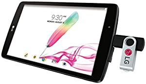LG G Pad F 8.0 16GB (2nd Gen) Android Tablet PC w/ 8-inch Display & Built-in Stylus Pen - Black