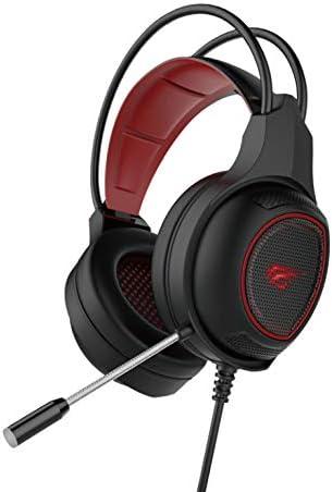 LED/_Black Havit HV-H2239D 3.5mm+USB gaming PC headset with Mic