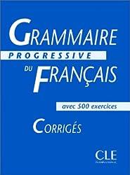 Grammaire progressive du français, niveau intermédiaire : Corrigés