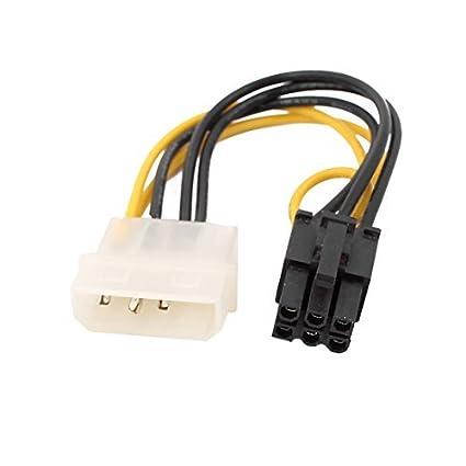 Amazon.com: eDealMax LP4 a 6 adaptador de conector Cable ...