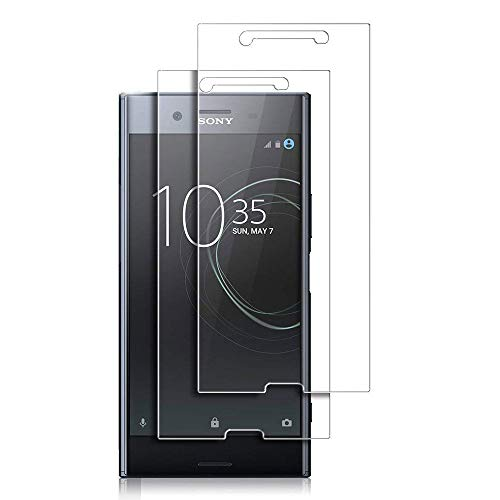 for Sony Xperia XZ Premium Tempered Glass Screen Protector - [2 Pack] for Sony Xperia XZ Premium G8141 G8142 G8188 High Clear Tempered Glass Screen Protector High Clear Front Anti Scratch Film