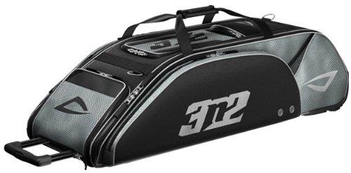 (3N2 Go Baseball Bag, Black/Silver)