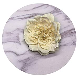 ALWAYS ME Flower Heads Decorative Scrapbooking Artificial Flower for Home Wedding Decoration Supplies,Champagne 87