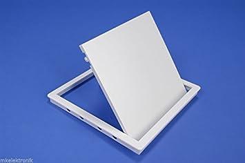Awenta 30/cm x 40/cm Tapa para revisi/ón pladur Revisi/ón Chapa de acero color blanco