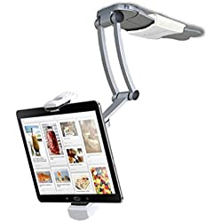 2-in-1 Kitchen Mount Stand for 7-13 Inch Tablets/iPad (2017)/iPad Pro 9.7, 10.5, 12.9/Surface Pro/IPad mini