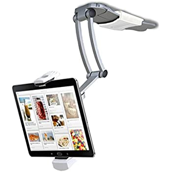 2-in-1 Kitchen Mount Stand for 7-13 Inch Tablets/iPad