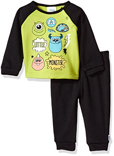 Disney Baby Boys\' Monsters Inc 2-Piece Fleece Set