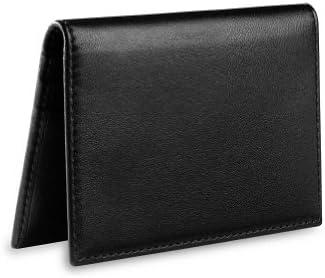 Levenger al7595 nm esencial tarjeta wallet, Negro: Amazon.es ...
