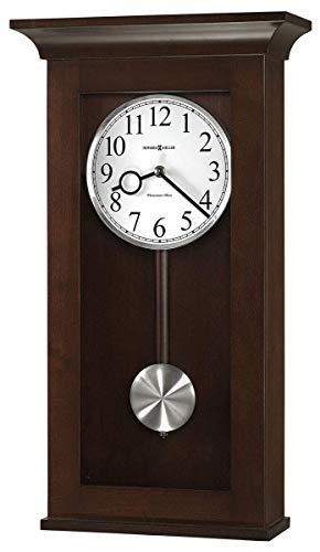 Howard Miller BRAXTON Wall Clock, Black Coffee