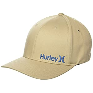 Hurley Men's One & Only Corp Flexfit Perma Curve Bill Baseball Hat