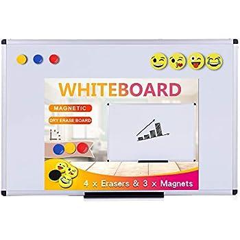 Amazon.com : VIZ-PRO Magnetic Whiteboard/Dry Erase Board