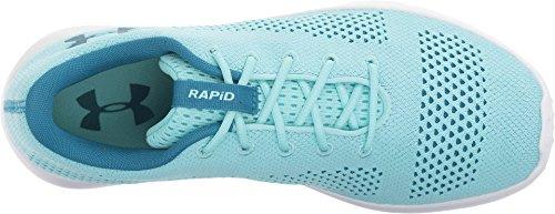 Under Armour Damen UA W Rapid Laufschuhe Blue Infinity/White/Bayou Blue