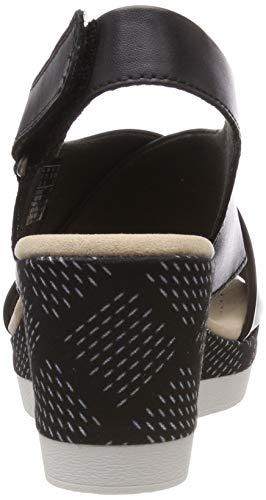 Leather Cammy Punta Pearl Sandalias Negro Para Cerrada Mujer Clarks black gpnFqxp