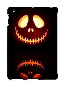 Awesome QXDaqsf987rBUOx Trolleyscribe Defender Tpu Hard Case Cover For Ipad 2/3/4- Halloween Scary Jack Skellinn Jacklantern