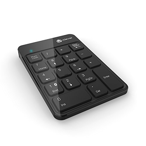 iClever 18-Key Wireless Numeric keypad Bluetooth Numeric