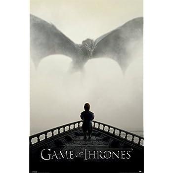 Game of Thrones A Lion & A Dragon GoT Maxi Poster 61x91.5cm