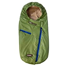 7AM Enfant Papoose Light Weight Baby Bunting Bag, Green Tea, Medium/Large by 7AM Enfant