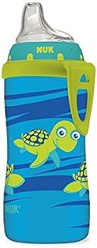 NUK Blue Turtle Silicone Spout Active Cup (10-Oz.)