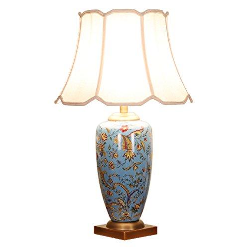 505 HZB American Ceramic Copper Desk Lamp, Living Room, Vill