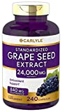 Carlyle Grape Seed Extract 24,000 mg Equivalent 240