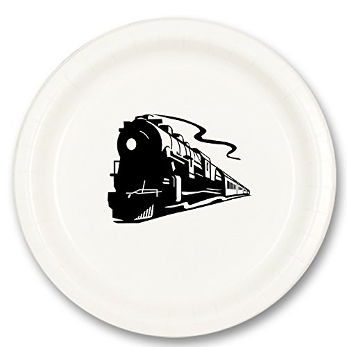 (STEAM Train Dinner Plate (8/Pkg))