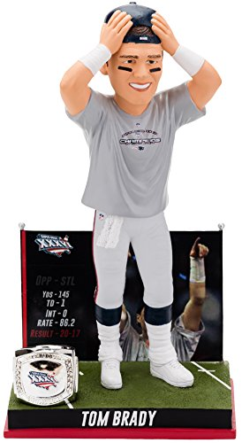 TOM BRADY SPECIAL EDITION BOBBLEHEAD FIRST SUPERBOWL VICTORY