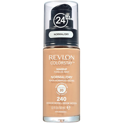 Revlon ColorStay Liquid Foundation For Normal/dry Skin,Medium Beige, 1 Fl Oz