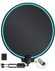 SETEK TV Antenna Digital Indoor Support 4K 1080p TV's Indoor Smart Switch Amplifier Signal Booster