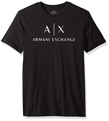 A%7CX+Armani+Exchange+Men%27s+Ax+Logo+Jersey+Tee%2C+Black%2C+Medium
