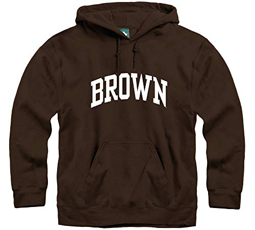 Ivysport Brown University Hooded Sweatshirt, Classic, Brown, Medium ()