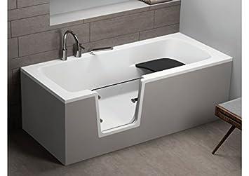 Vasca Da Bagno Anziani : Vovo vasca da bagno per anziani bianco cm cm amazon