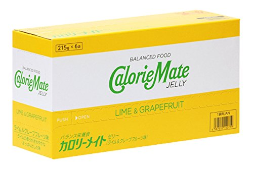 Otsuka Pharmaceutical Co   Ltd  Caloriemate Jelly Lime   Amp  215Gx6 Bags Taste Grapefruit