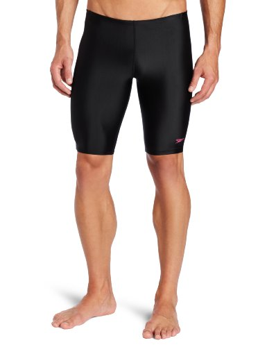 Lane 4 Swim Shop (Speedo Men's Breastroke 4 Hope Solid Jammer Swimsuit, Black, 30)