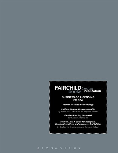 Fairchild Books Custom Publication Fit Business of Licensing FM 324