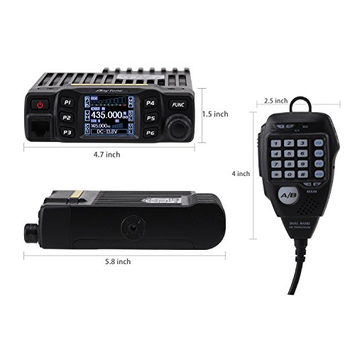 AnyTone AT-778UV Dual Band Transceiver Mobile Radio VHF/UHF Two Way and Amateur Radio by AnyTone (Image #5)