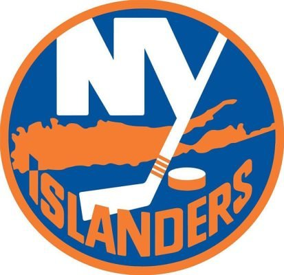 Rico Industries NHL New York Islanders Die Cut Team Logo Short Sport Sticker