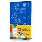 Moleskine LEGO Limited Edition Notebook II, Large, Plain, Blue, Hard Cover (5 x 8.25) (Moleskine Limited Edition)