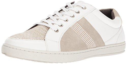 Unlisted by Kenneth Cole Mens Plott Sneaker White