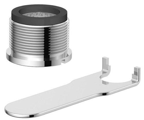 Danze DA613079NBN Tom Thumb Male Faucet Aerator Kit with Laminar Flow Pattern, 1.5 GPM, Brushed Nickel