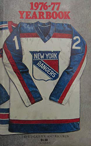 - 1976/77 New York Rangers Yearbook Blue Book Media/Press Guide 144409