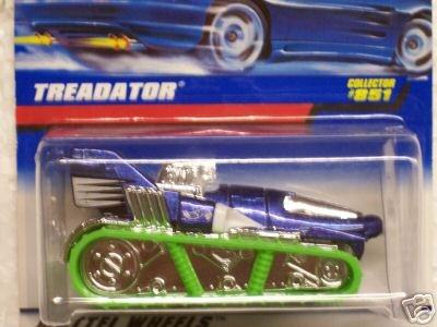 Mattel Hot Wheels 1998 X-Treme Speed Series 1:64 Scale Die Cast Metal Car # 4 of 4 - Blue Convertible Sport Coupe Mazda MX-5 Miata ()