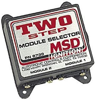 amazon com msd 8737 multi step module selector automotive msd 8739 two step module selector